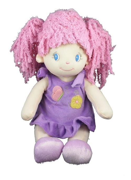 Lalka Marysia fioletowa 25cm
