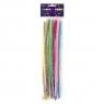 Druciki kreatywne, 18 szt. x 30cm - opalizujące, mix kolorów (KSDR-011)