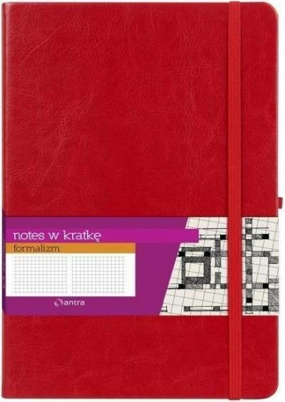 Notes A4 Kratka Formalizm Czerwony