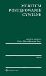 Meritum Postępowanie cywilne Marszałkowska-Krześ Elwira