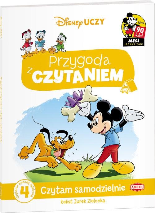 Disney Uczy Przygoda z czytaniem Mickey Mouse Czytam samodzielnie (PCW-4) Zielonka Jurek