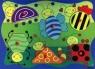 Drewniana układanka owady 6 elementów