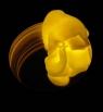 Sprytna Plastelina świecąca - Bursztyn