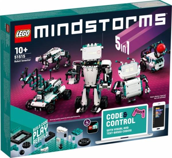 Klocki Mindstorms Wynalazca robotów (51515)