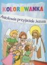 Aniołowie przyjaciele Jezusa Kolorowanka