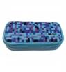 Piórnik Happy Color Pixi prostokątny, niebieski (HA 2213 4610-PI1)
