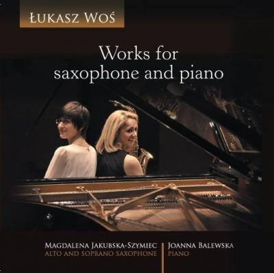 Works for saxophone and piano CD Woś Łukasz