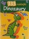 Dinozaury 333 naklejki