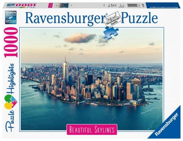 Puzzle 1000 elementów Widok na Horyzont Nowy Jork (140862)
