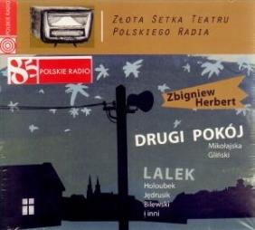 Drugi pokój. Lalek. Złota Setka Teatru Polskiego Radia. Książka audio CD MP3 Zbigniew Herbert