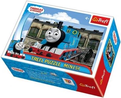 Puzzle 54 mini Tomek i Przyjaciele 4 TREFL (19386)