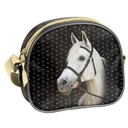 Mała torebka na ramię Horse (18-401HS)
