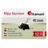Klipy Titanum BC41 41mm, 12 szt. - czarne (71643)