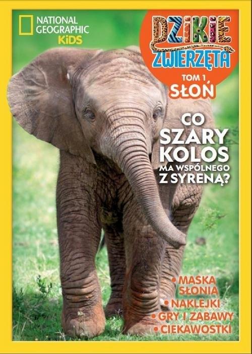 Dzikie Zwierzęta Słoń Tom 1