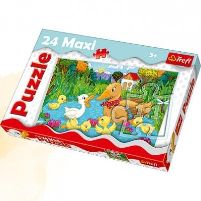 Puzzle maxi Brzydkie kaczątko 24 elementy (14186)