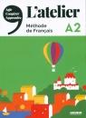 L'Atelier A2 Methode de Francais + DVD Cocton Marie-Noëlle, Marolleau Emilie, Pommier Emilie