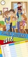 Kalendarz 2018 Planer rodzinny