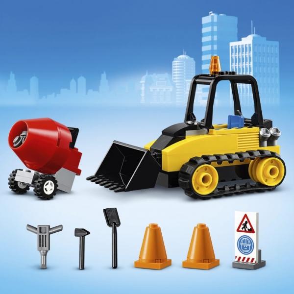 Lego City: Buldożer budowlany (60252)