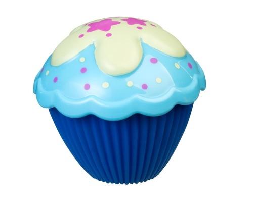 Mini cupcake Babeczka z niespodzianką niebieska