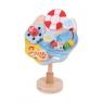Zabawka Sensoryczna na Przyssawkę - Morze