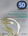 50 Ways To Improve Your Presentations Skills In English