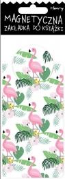 Zakładka magnetyczna Flamingi