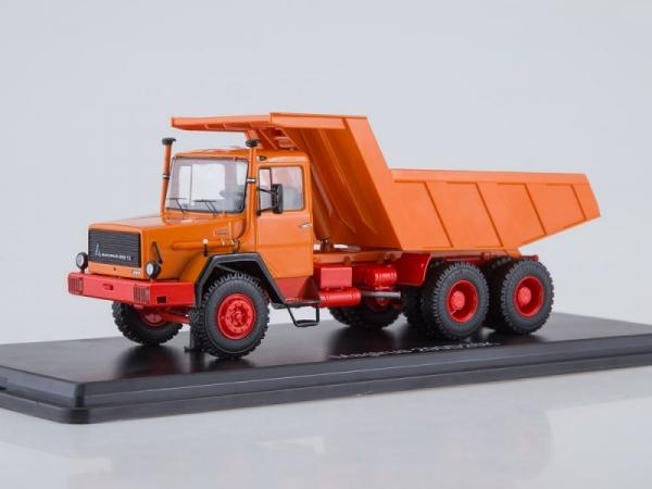 Magirus-Deutz 290D26K Dump Truck (orange) (SSM1286)