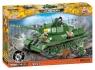 Cobi: Mała Armia WWII. Rudy 102 T-34/85 - Czterej Pancerni i pies (2486A)