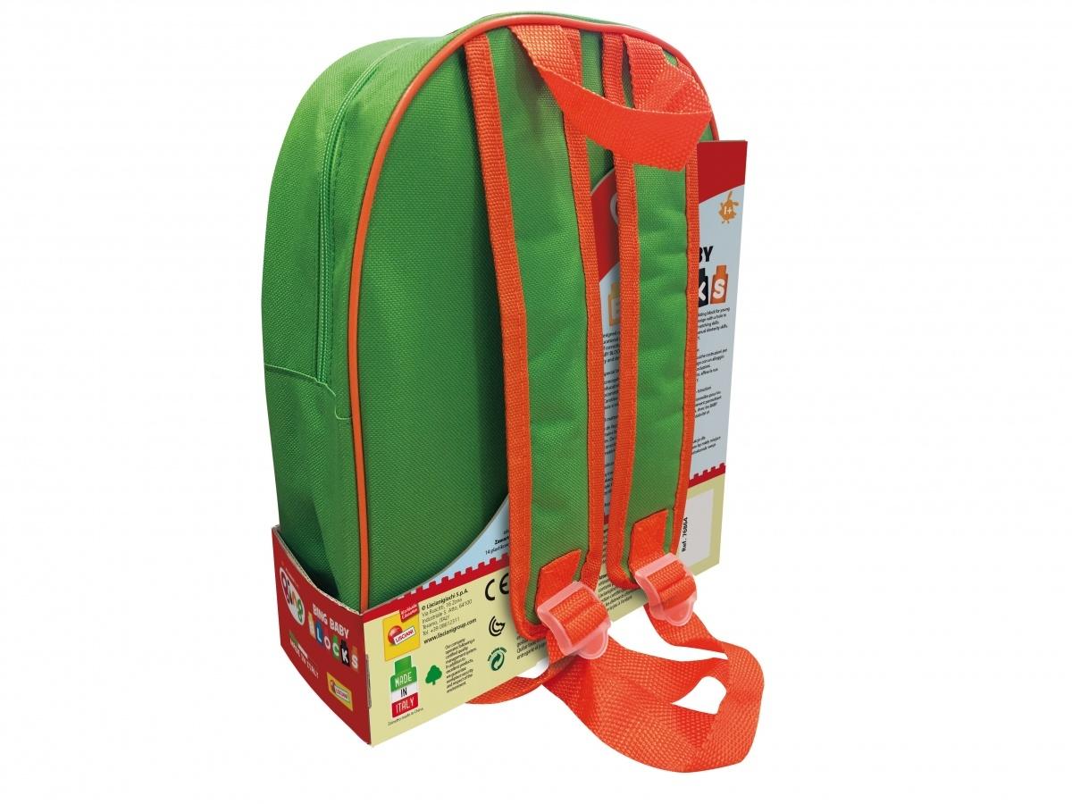 Bing - Plecak z klockami konstrukcyjnymi zielony (304-76864)