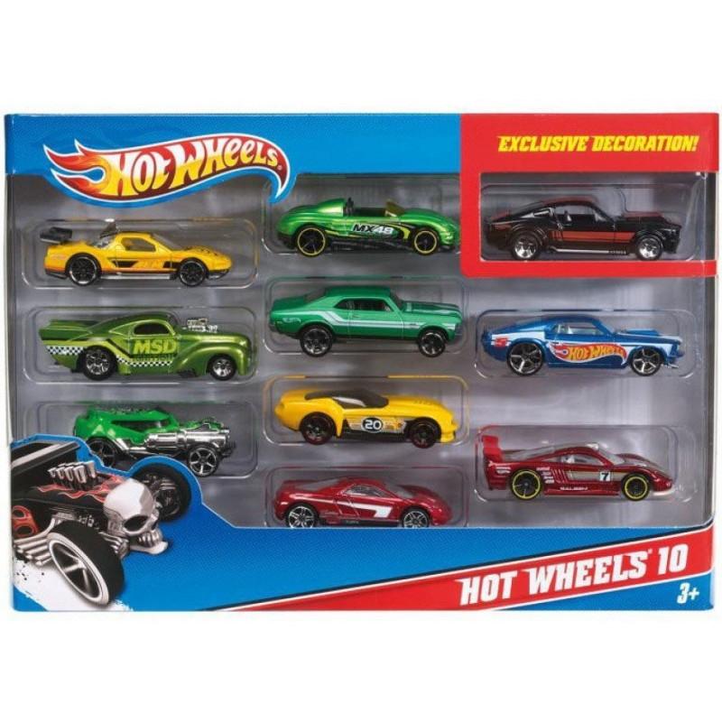 Hot Wheels: Dziesięciopak MIX (54886)