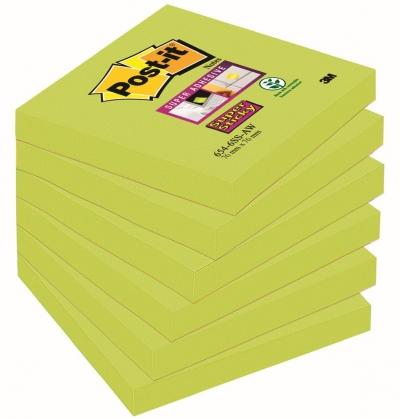 Notes samoprzylepny Post-It 654-6SS-AW 7,6 x 7,6 cm (70005198141)
