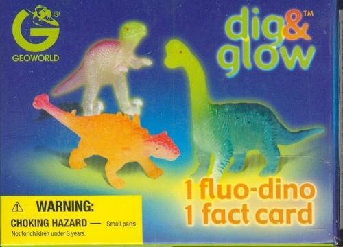 Wykopaliska świecące dinozaury mini - Brachiosaurus