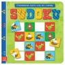 Sudoku Przedszkolak myśli uczy się i nakleja