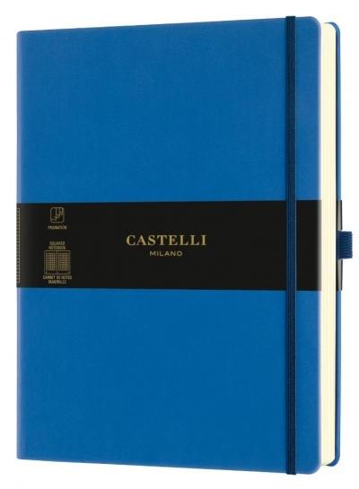 Notatnik 19x25cm kratka Castelli Aquarela Blue Sea