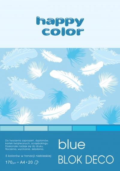 Blok Deco Blue A4/20 (HA 3717 2030-032)