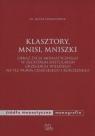 Klasztory mnisi mniszki