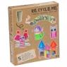 Re-Cycle-Me Zestaw Kreatywny Syrenka 5 zabawek