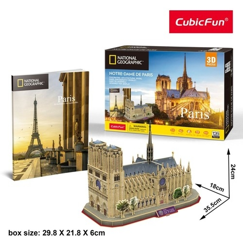 Puzzle 3D: National Geographic - Notre Dame (DS0986)