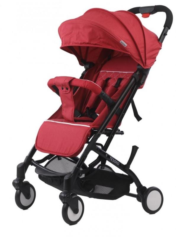 Wózek spacerowy A8 Flax Winny (Tesoro A8-Flax Win Red)
