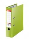 Segregator Esselte No.1 VIVIDA Plus A4/8cm - zielony (81186)