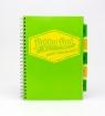 Kołozeszyt A4 Pukka Pad Project Book Neon 200 stron zielony (7079-NEO(SQ))