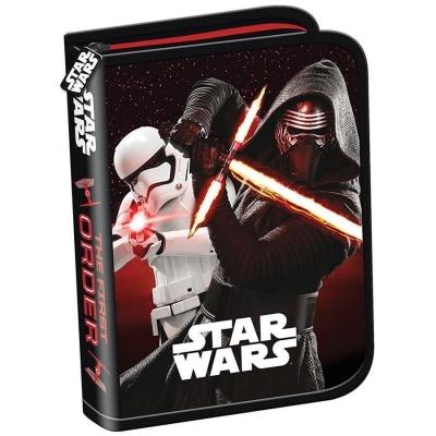 Piórnik dwuklapkowy bez wyposażenia Star Wars VII