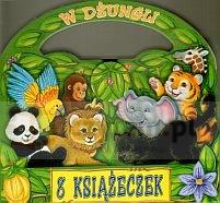 W dżungli. Pakiet 8 książeczek praca zbiorowa