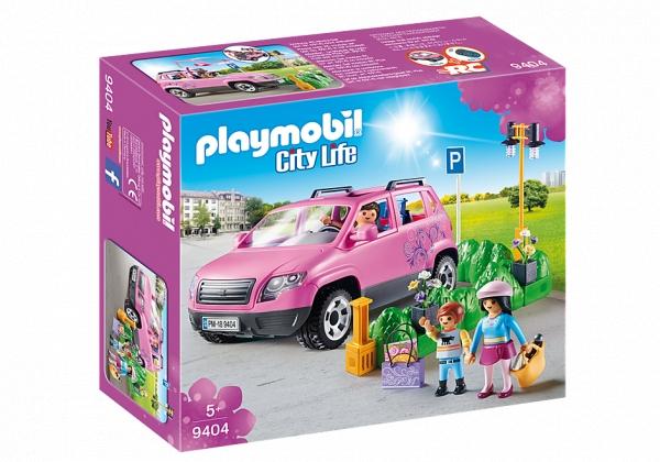 Samochód rodzinny z zatoczką parkingową (9404)