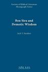 Ben Sira and Demotic Wisdom