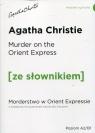 Murder on the Orient Express Morderstwo w Orient Expressie z podręcznym Christie Agatha