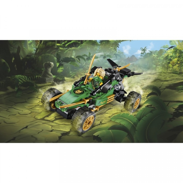 Lego Ninjago: Dżunglowy ścigacz (71700)