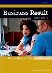 Business Result 2E Intermediate SB+online practice praca zbiorowa