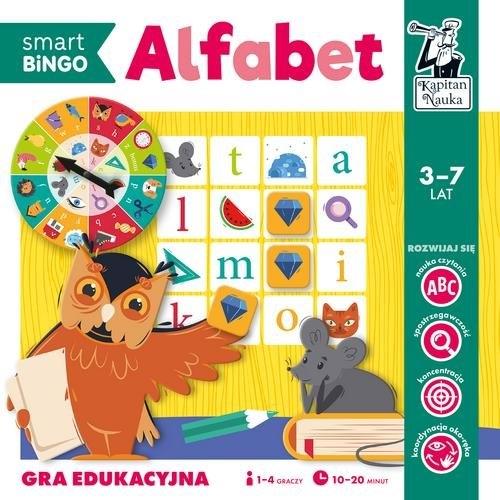 Alfabet. Smart Bingo. Gra edukacyjna. Kapitan Nauka Gołaszewska Izabela