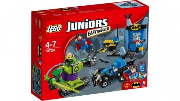 Lego Juniors: Batman i Superman vs Lex Luthor (10724)